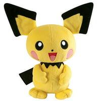 Pokemon- Tomy Uk Pichu 8in Basic Plush