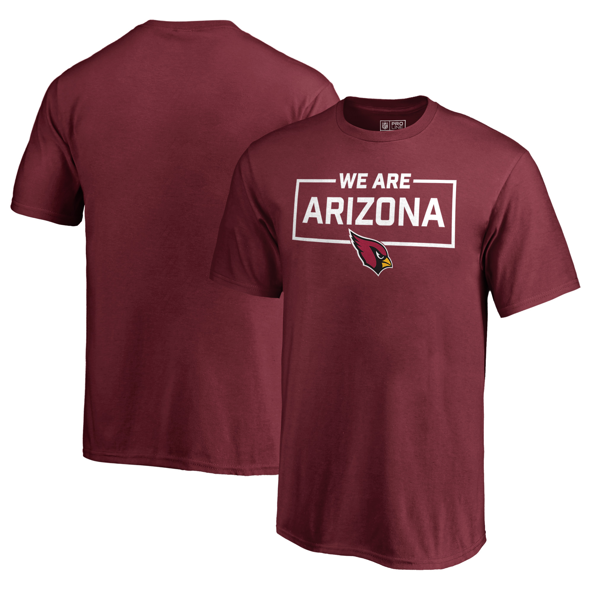Arizona Cardinals NFL Pro Line by Fanatics Branded Youth We Are Icon T-Shirt - Cardinal