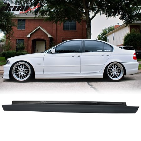 Fits 99-05 BMW E46 3 Series 4Dr MT M Sport PP Side Skirts