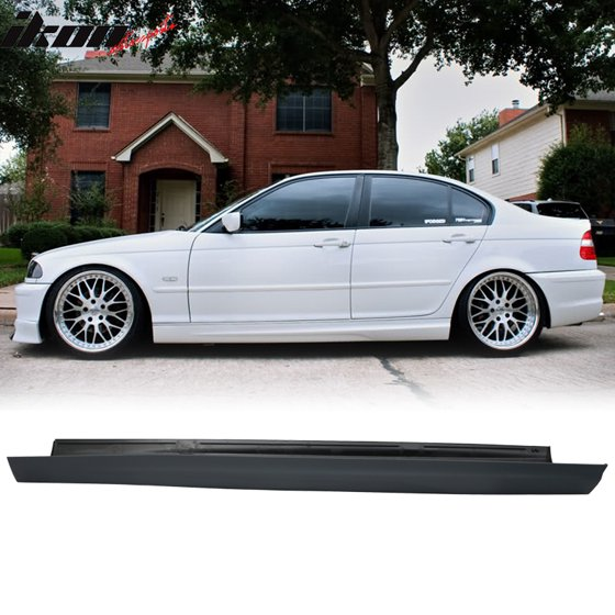 Fits 99 05 Bmw E46 3 Series 4dr Mt M Sport Pp Side Skirts Bodykits