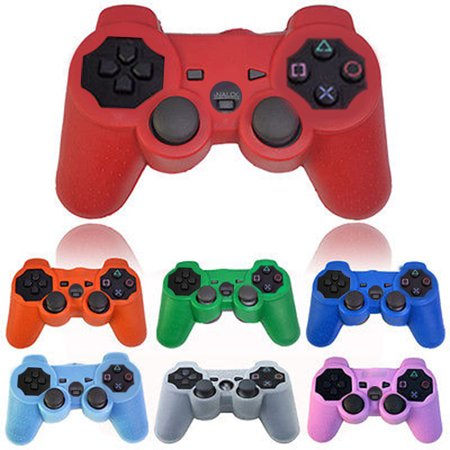 Ps3 Hori Pad Wireless Controller (Girl12Queen Silicone Protective Skin Cover Case for Playstation 3 PS3 Controller)