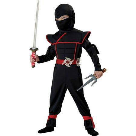 Ninja Stealth Child Halloween Costume](Ninja Costume Makeup)