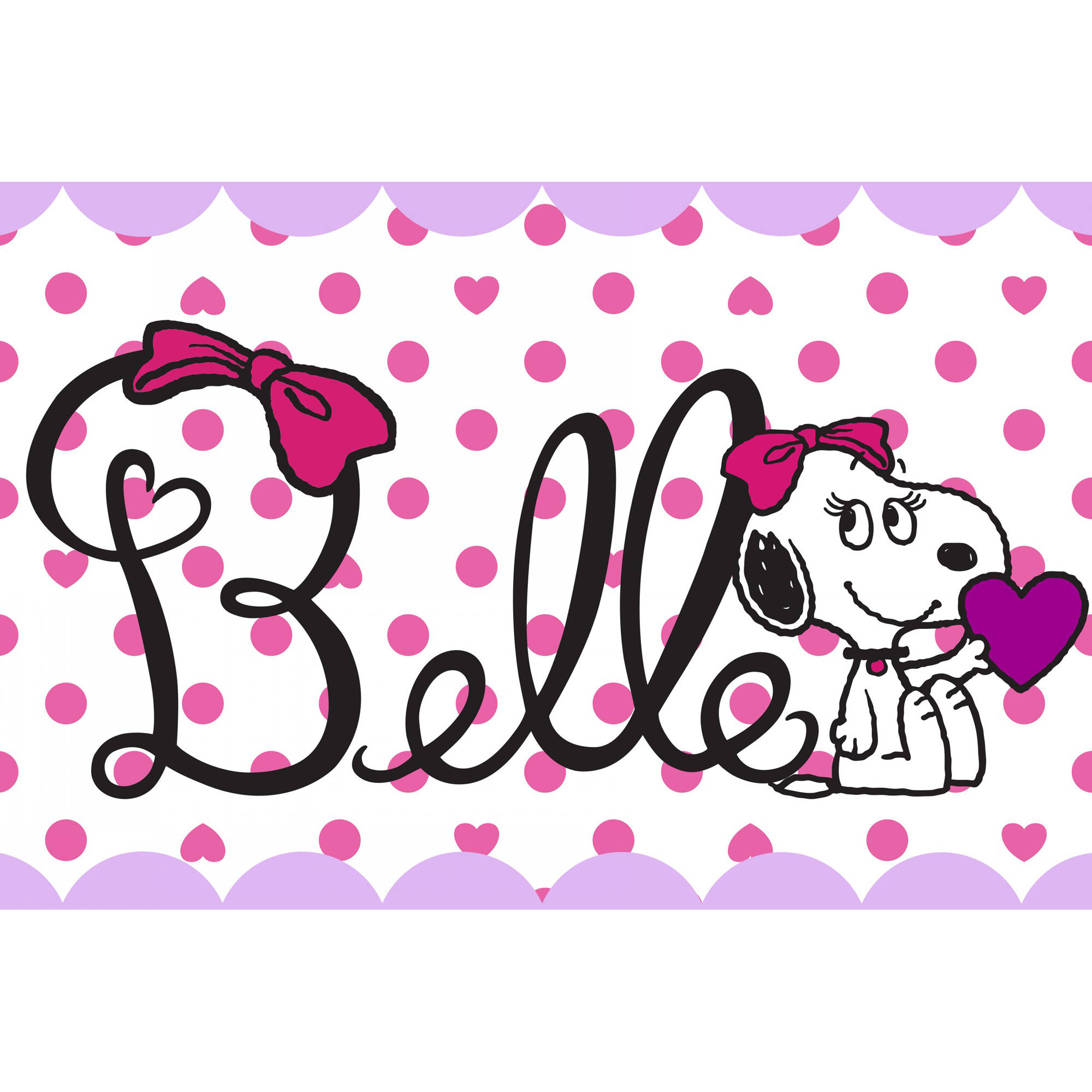 "Marmont Hill ""Belle"" Peanuts Print on Canvas"