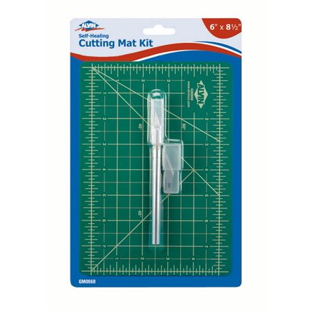 (Alvin GM0668 6 in. x 8.5 in. Cutting Mat with Knife)