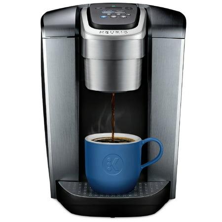 Keurig K-Elite, Single Serve K-Cup Pod Coffee Maker, Brushed Silver