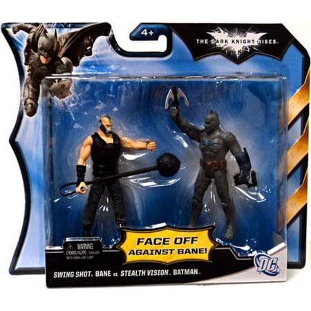 Swing Shot Bane Vs. Stealth Vision Batman Action Figure 2-Pack (Bane 90s Batman)
