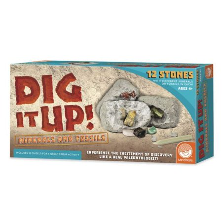 MindWare Dig It Up! - Minerals and Fossils (Mindware Toys)