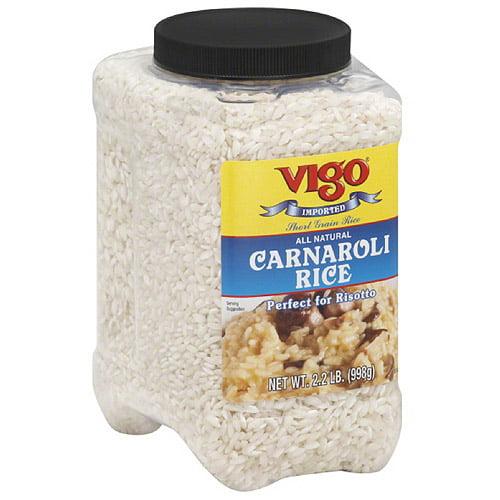Vigo Carnaroli Rice, 2.2 lbs, (Pack of 4) by Generic