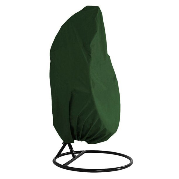Outdoor Hanging Chair Cover Single Swinging Egg Chair Pod Chair Swingasan Cover Outdoor Patio Hanging Chair Cover Heavy Duty Water Resistant 75 H X 45 D Green Walmart Com Walmart Com