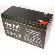 PowerStar PS12-7-18 7Ah 7Amp Home Security Alarm System Battery 12V