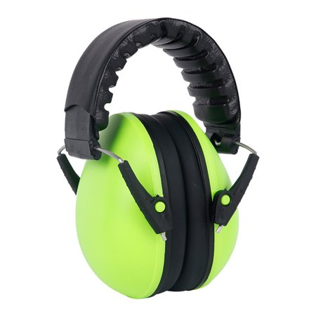 Baby Hearing Protection Earmuff Noise Cancelling Ear Muffs for Sleep Play  Study(Style A Green)