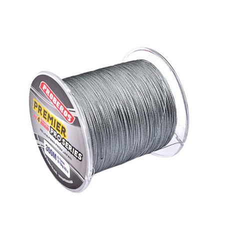 300M Strong PE Braided Fishing Line Multifilament Fishing Rope Cord 4 Strands