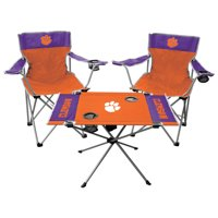 Clemson Tigers Rawlings Tailgate Chair And Table Set - No Size