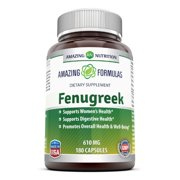 Amazing Formulas Fenugreek 610 Mg 180 Capsules
