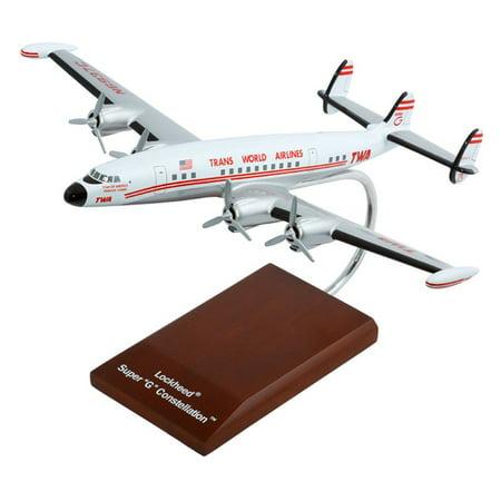 Daron Worldwide Lockheed Martin L 1049 Super Constellation Twa 1945 Model Airplane