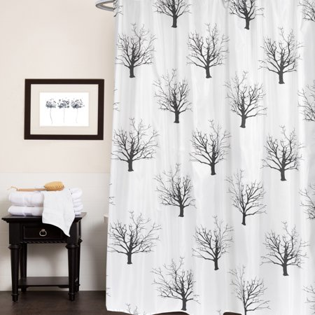 Polyester Fabric Shower Curtain Bath Time Rubber Ducky, Soap Print 70