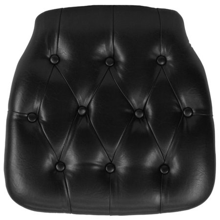 Flash Furniture Hard Tufted Vinyl Chiavari Chair Cushion, Multiple Colors ()