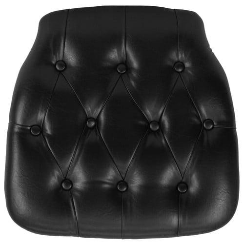 Flash Furniture Hard Tufted Vinyl Chiavari Chair Cushion, Multiple Colors