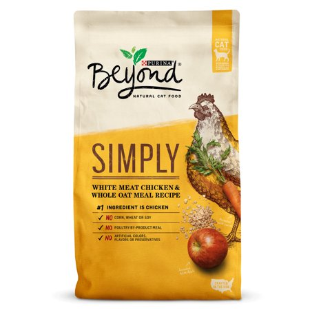 Purina Beyond White Meat Chicken And Whole Oat Meal Recipe Cat Food