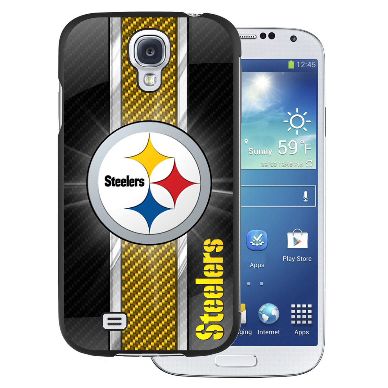 NFL Samsung Galaxy 4 Case - Pittsburgh Steelers