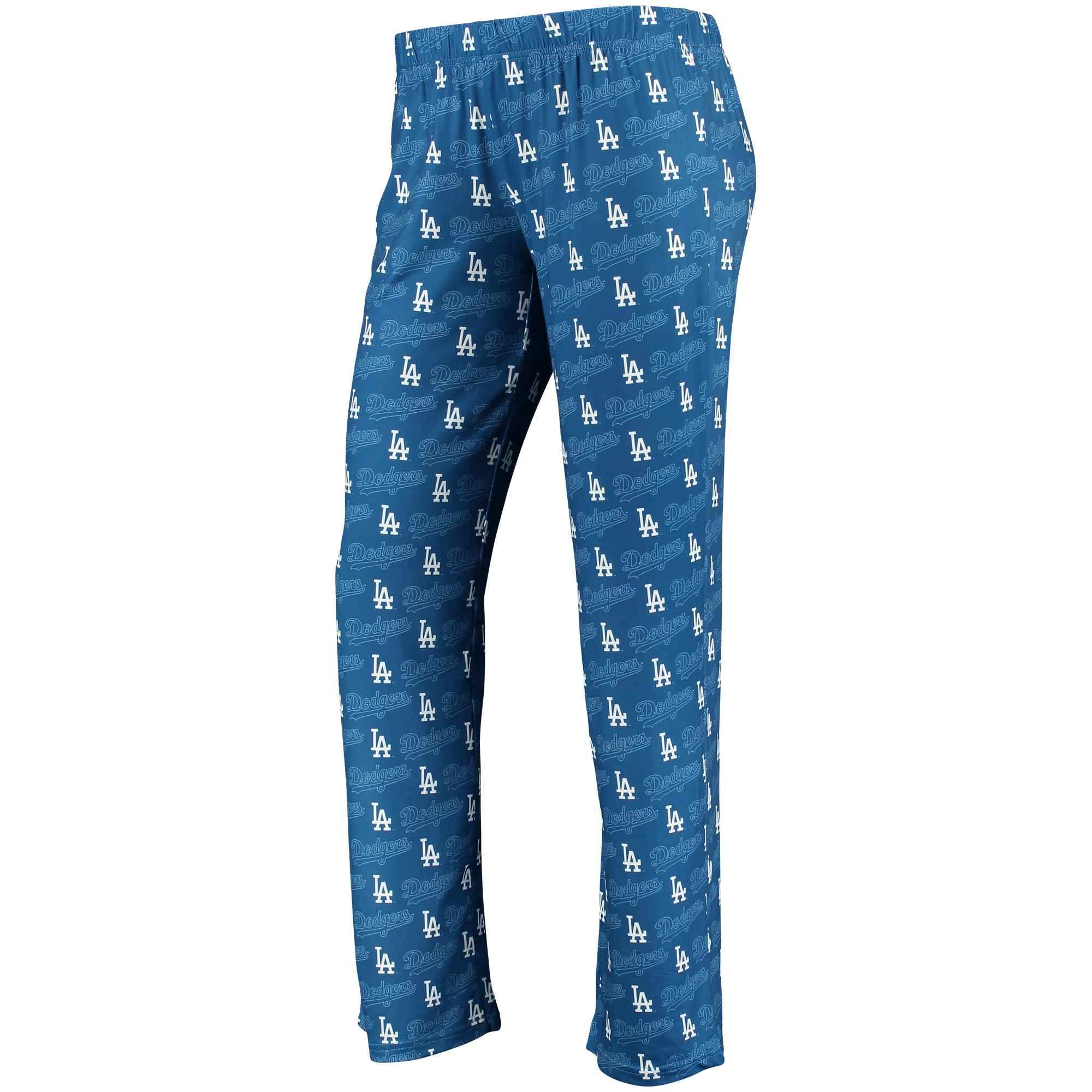 Women's Royal Los Angeles Dodgers Thematic Polyester Print Pant