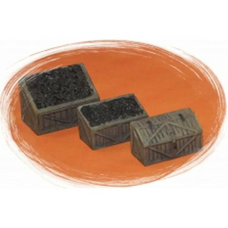 Bar Mills 4020 O Coal Bins & Tool Chest Unpainted - 3 Bin Cabinet