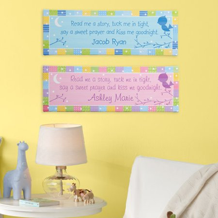 Personalized Kiss Me Goodnight Baby 6