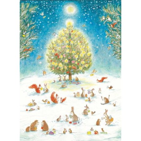 A Woodland Christmas Advent Calendar (Christmas Advent Calendar)