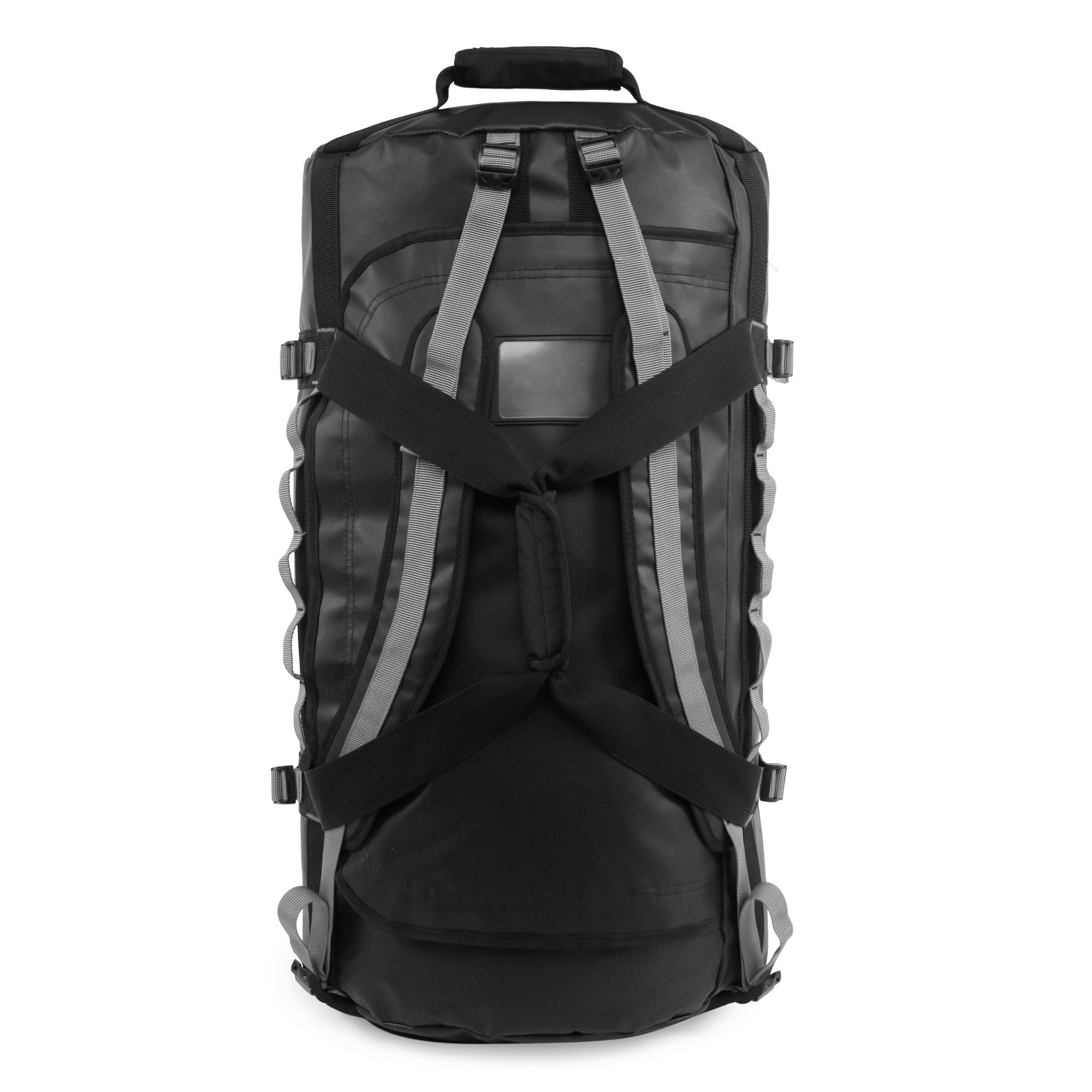Penguin Compass Water-Resistant 2-In-1 Large Duffel/Backpack
