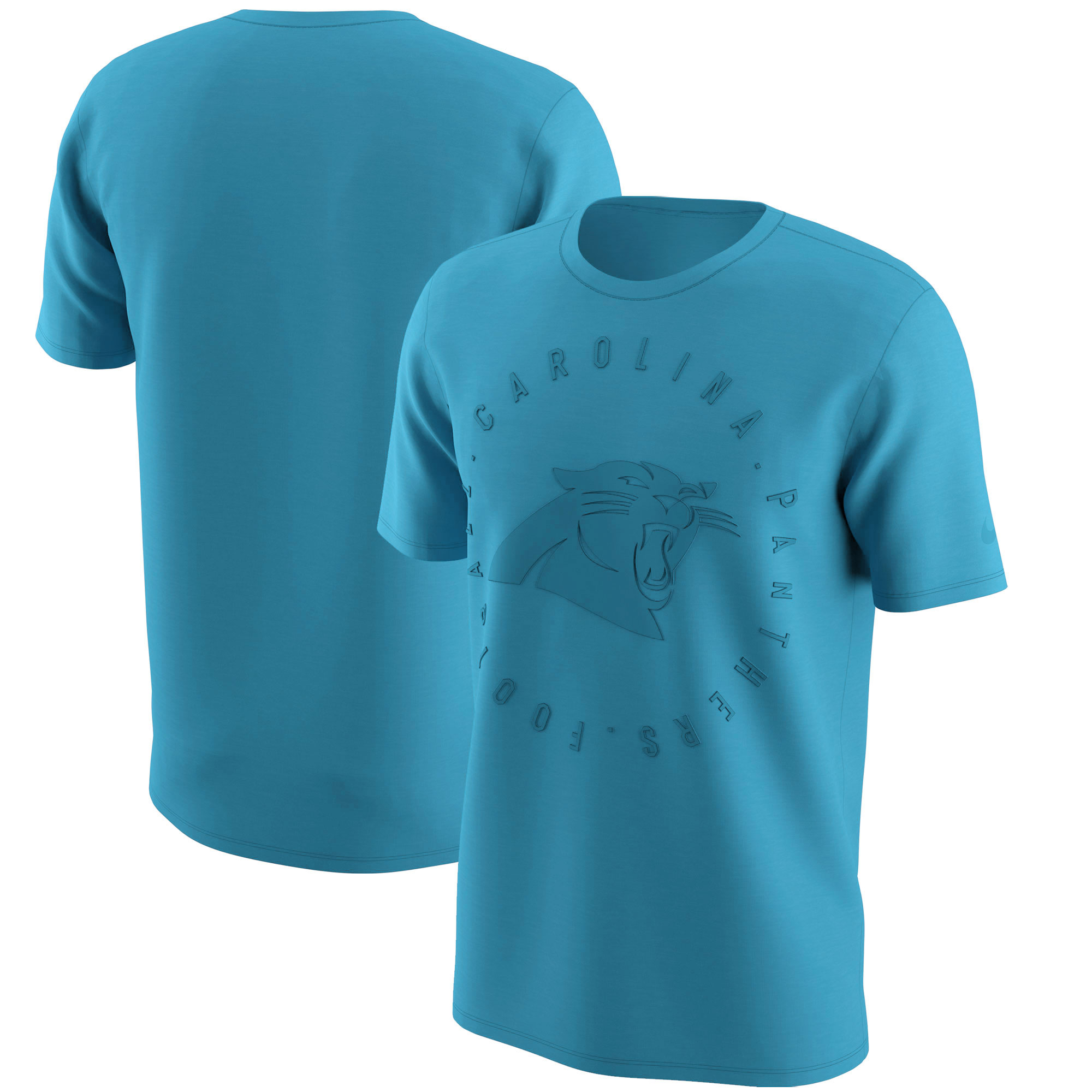 Carolina Panthers Nike Color Rush Logo T-Shirt - Blue
