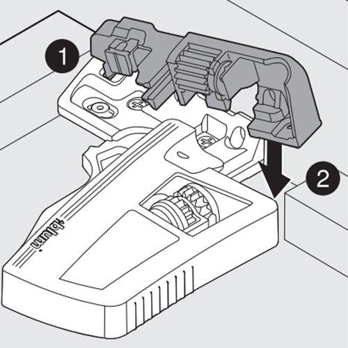 Blum Add On Depth Adjustment Set For Inset Drawers 298.7600