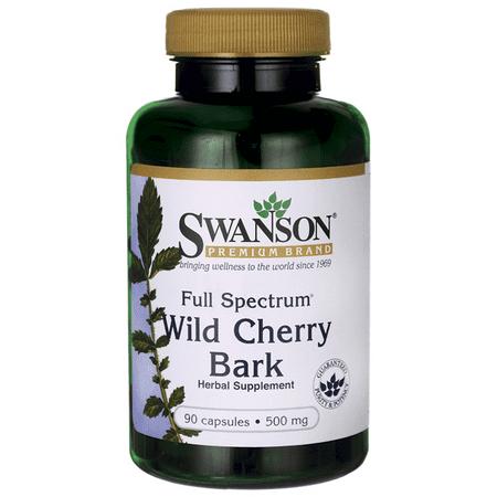 Swanson Full Spectrum Wild Cherry Bark 500 mg 90 Caps (Honey Gardens Wild Cherry Bark)