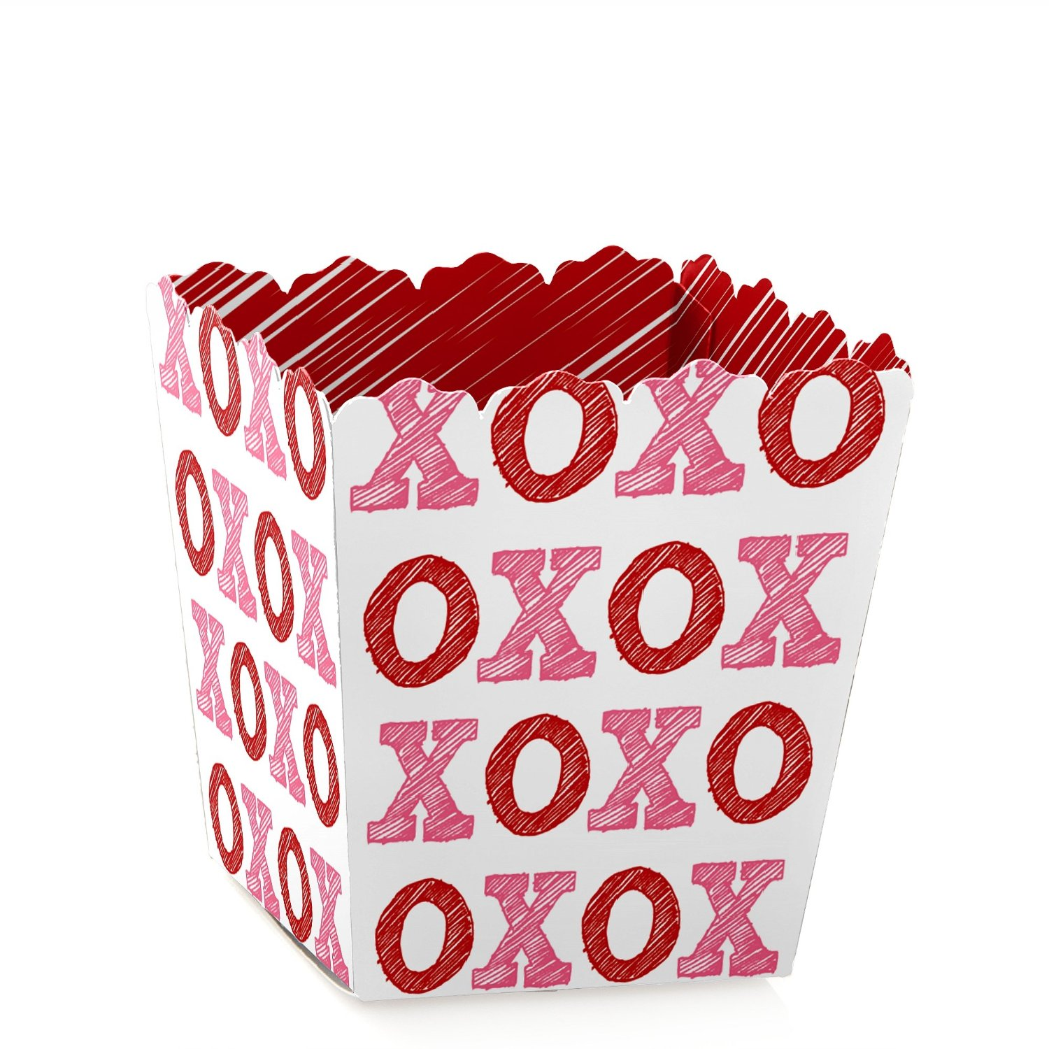 Valentine's Day - Party Mini Favor Boxes - Valentines Day Party Treat Candy Boxes - Set of 12