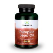 Swanson pumpkin seed oil softgels, 1,000 mg, 100 ct