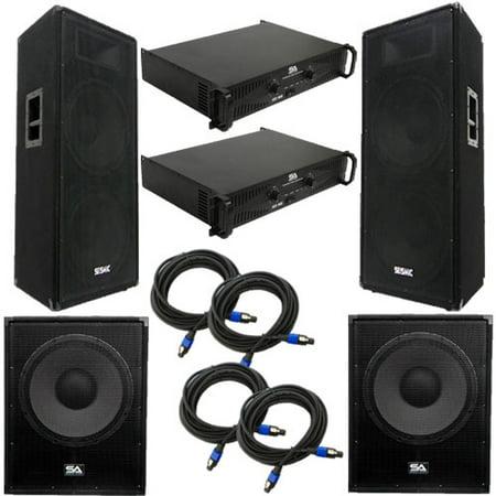 Seismic Audio Premium Dual 15
