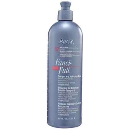 Roux Fanci-Full Temporary Color Rinse 52 White Minx, 15.2 Oz ()