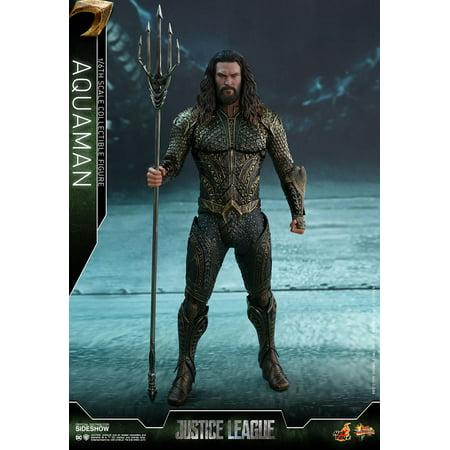 Justice League Movie 12 Inch Action Figure Movie Masterpiece 1/6 Scale Series - Aquaman Hot Toys 903123 - image 1 de 1