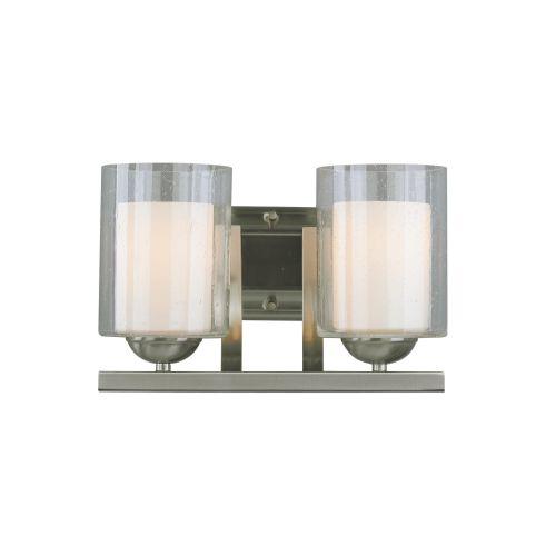 """Woodbridge Lighting 53112 Cosmo 2 Light 13"""" Wide Vanity L..."""