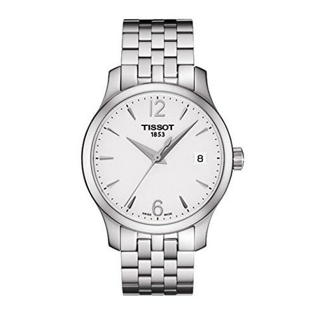 Tissot TTrend Tradition Silver Dial Stainless Steel Woman's Watch T0632101103700