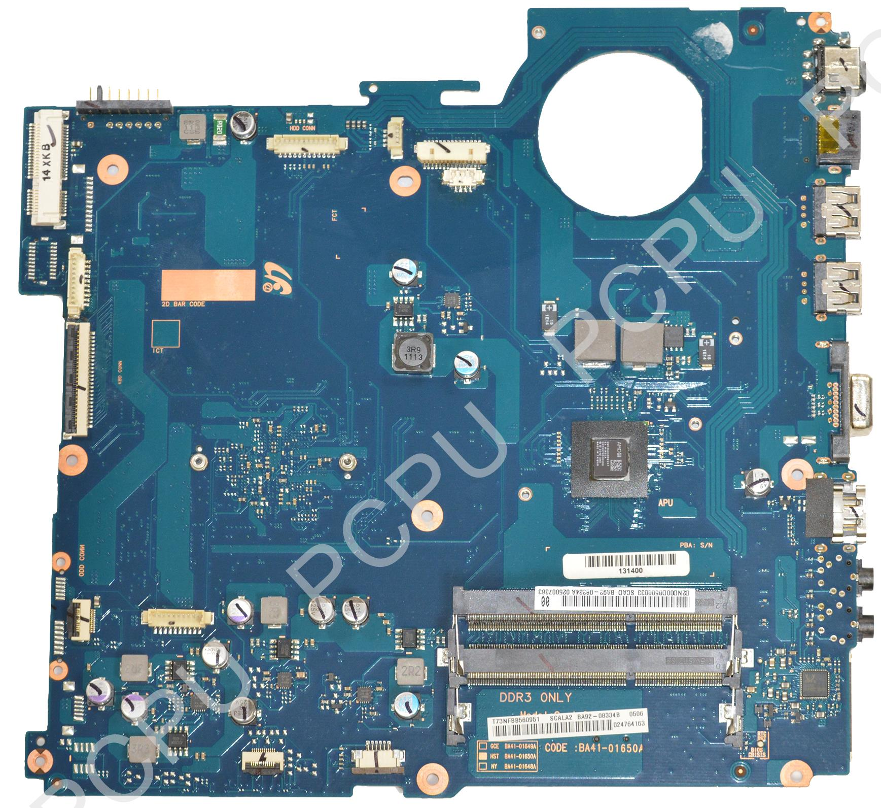 BA92-08334A Samsung NP-RV515 Laptop Motherboard w/ Intel ...