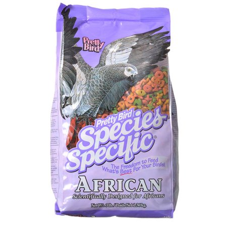 Pretty Bird Species Specific African Grey Food 3