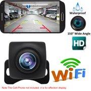 Wireless Backup Camera USB Cable HD WIFI Rear View Camera for Car, Vehicles, WiFi Backup Camera with Night Vision, IP67 Waterproof LCD Wireless Reversing Monitor
