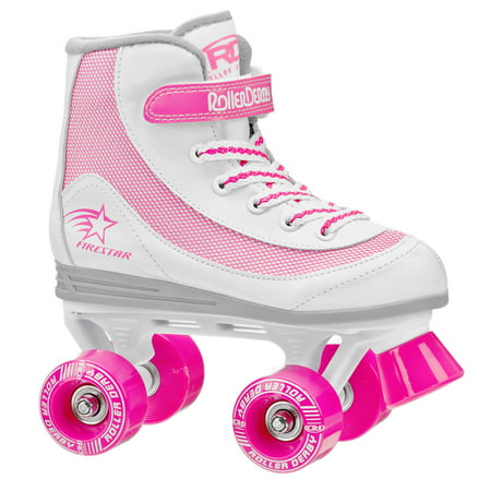 Flashing Roller Skates (Roller Derby FireStar Girls Quad Roller)