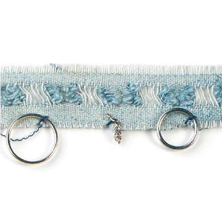 Expo Int'l 5 yards of Rings & Chains Denim Trim
