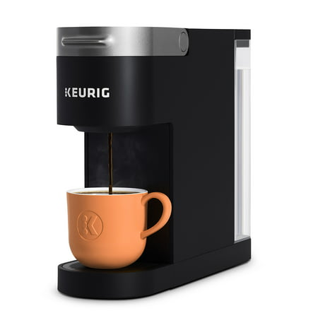 Keurig K-Slim Coffee Maker, Single Serve K-Cup Pod Coffee Brewer, 8 to 12 oz. Brew Sizes, Black