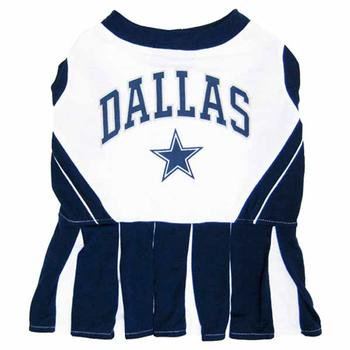 Dallas Cowboys Cheerleader Dog Dress X-Small (Dallas Cowboy Cheerleader Outfits)