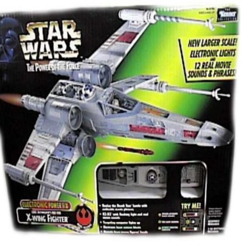 Kenner POTF Electronic Power F/X Luke's Red Five X-Wing