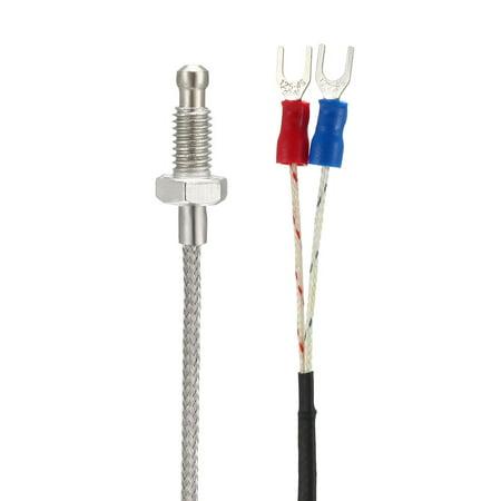 K Type Capteur Sonde température Vis Type Thermocouple 3 Mètres Cable - image 2 de 3
