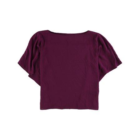 Ralph Lauren Womens Draped Dolman-Sleeve Knit Blouse purple M - image 1 de 1