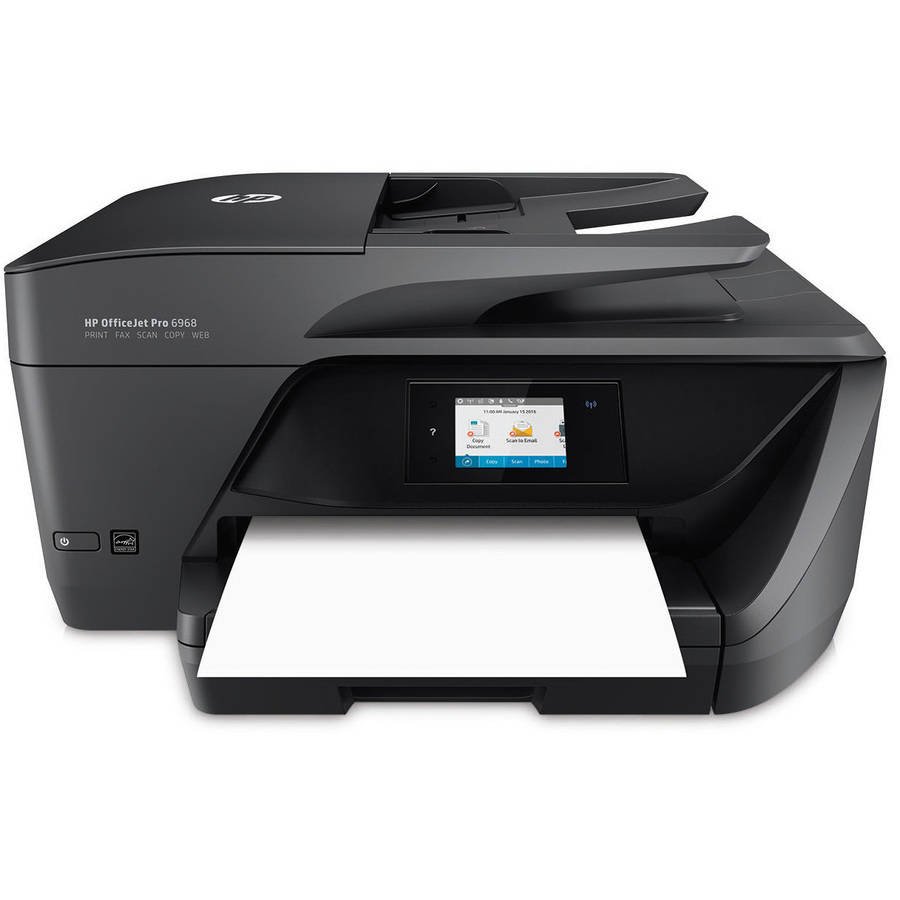 HP T0F28A OfficeJet Pro 6968 All-in-One Multifunction Printer/Copier/Scanner/Fax Machine